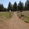 The start of the Anasazi trail loop