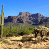 Views of the Superstition Wilderness