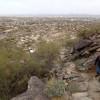 Hiking along the Geronimo trail