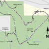Map: Cholla Loop to Coachwhip