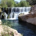 Fossil springs waterfall