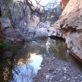 Peaceful creek in White Canyon