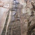 Rapelling in Sundance canyon