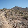 Trail to Daisy mountain