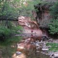 West fork of Oak Creek canyon
