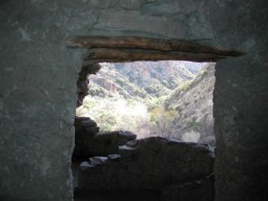 Rogers canyon ruins