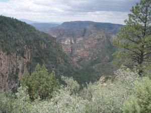 Secret mountain trail