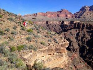 Big views along the Tonto trail