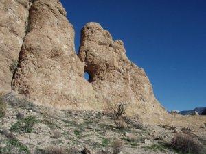 Salt river canyon overlook