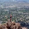 From the top of Camelback Mountain