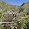 crossing Cave creek