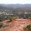Views of Sedona from Sugar Loaf