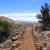 Hiking along the Black Canyon trail