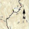 Geronimo trail: map