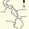 Adero Canyon Hike Map