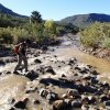 Crossing the Agua Fria river