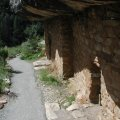 Walnut canyon ruins