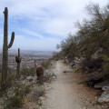 Views of Phoenix from the Geronimo trail