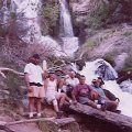 Weary hikers at Thunder River