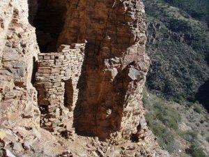 Ruins in copper fork