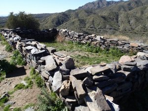 Walls of the Sears Kay site